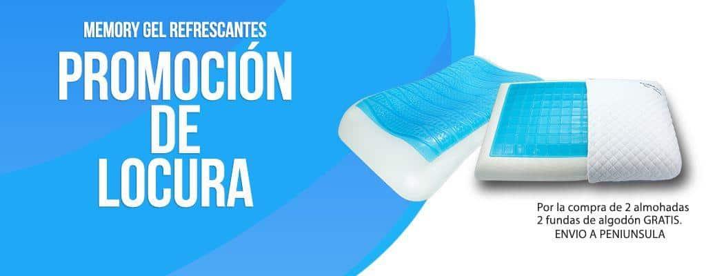 Almohadas Memory Gel Cervical Ergonomica - Tradicional Refrescante